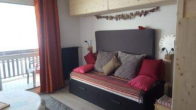 Photo for Mountain rental in SUPERDEVOLUY up to 4 persons