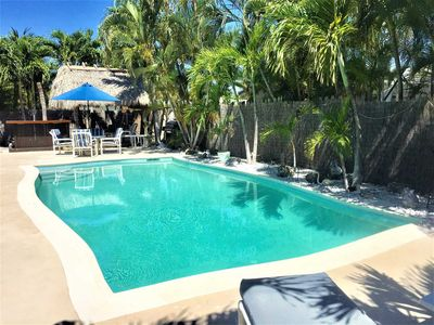 "Photo for When You're Here It's ""Just Another Day in Paradise""  Private Enclosed Deck - Heated Pool & Tiki Bar"