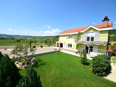 Photo for Stunning private villa with WIFI, pool, TV, balcony, washing machine and parking