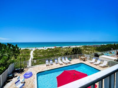 Photo for Beachside Hideout K Charming Beachfront Condo with Ocean View