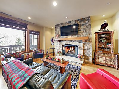 Photo for Luxe 3BR Ski-in/Ski-out House w/ Lake-View Balcony, Resort Amenities