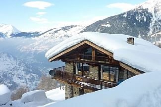 Photo for Catered or Self Catered Chalet w Outdoor Hot Tub and Incredible Mountain Views.