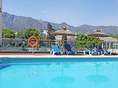 Photo for 1139 Marbella Center modern apartment 300 meter > beach