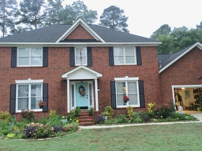 Photo for Masters Rental, within 10 miles, 4 bedrooms , 3 bath