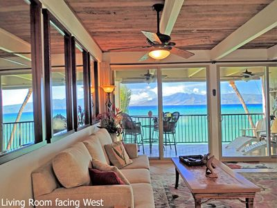 Photo for Lokelani A203 Oceanfront. A Perfect Oasis for your Family! 2bd/2ba AC & 2 Lanais