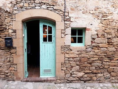 Photo for COZY RUSTIC HOUSE IN EMBLEMATIC MEDIEVAL VILLAGE 10 MINUTES FROM THE BEACH