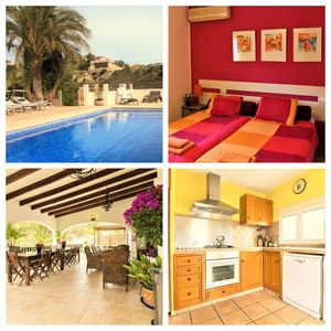 Photo for Elegant & Affordable Villa, Private swimming pool sleeps 4 to 11  adults
