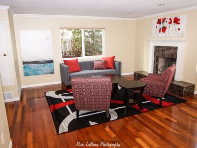 Photo for New, Affordable, Comfortable, ,w/Air Conditioning, Classy Casa, 10 blocks to bea