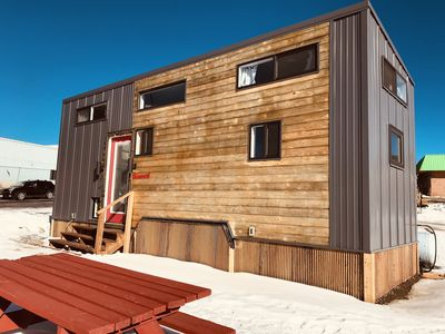Photo for Tiny House Maverick in downtown leadville with free WiFi