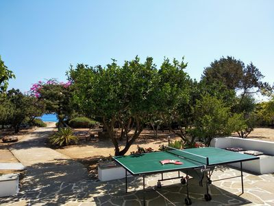 Photo for Akti Villa with beautiful lemon trees,flowers ,garden and private beach access