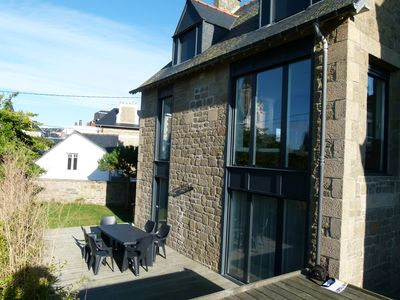 Photo for Saint Malo: Beautiful spacious house close to the sea.