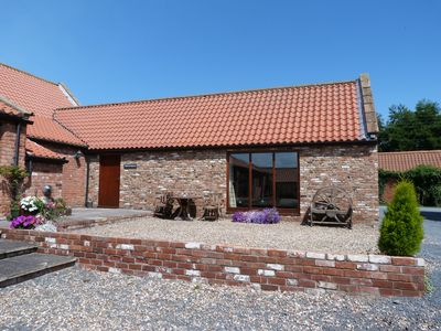 Photo for The Stables, Stunning Barn Conversion, Sleeps 4, Grounds overlook Hornsea Mere