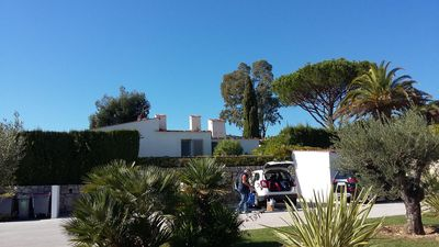 Photo for Villa with sea view garden, in superb grounds with private beach and pools