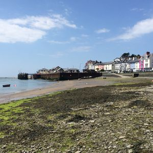 Aberdovey front and the pier