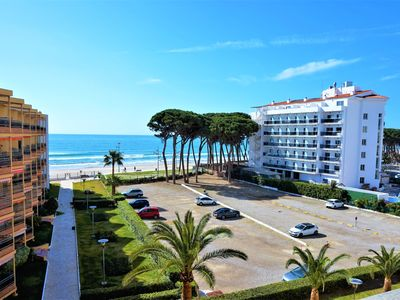 Photo for Apartment on the seafront with excellent views of the Mediterranean (G42)