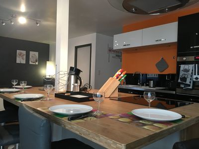 Photo for modern renovated apartment of 65m2 for 4 to 5 people