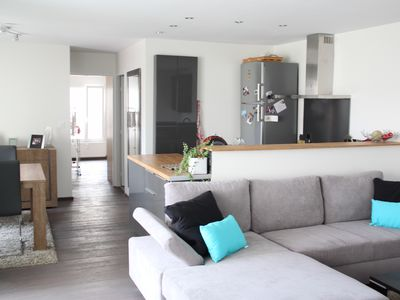 Photo for Near Cathedral, modern apartment, terrace & parking, 2 bedrooms, 2 bathrooms,