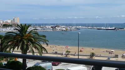 Photo for Apartment T2 - 4 people - Sea view - Air conditioning - WiFi - Town center and beach on foot ...