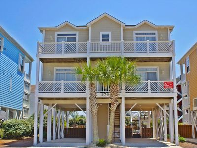 Photo for E2 376, A large and beautifully decorated custom home just perfect for those beach days.