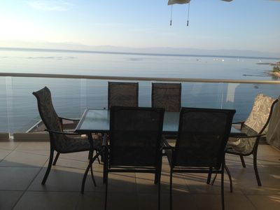 Photo for 2 BR 2BA Beachfront Condo - Million $ Views