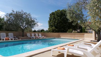 "Photo for Gîte ""the jasmine"" in provencal farmhouse with swimming pool"