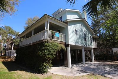 Welcome to 1616 Jones.  This home is protected by lush vegetation and trees