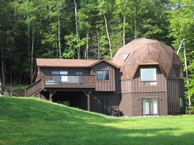 Photo for NEW! Unique DOME HOME Mountain Views, Private, Close to Town, Pool
