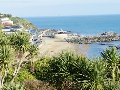 Photo for 2 bedroom apartment situated in spectacular location in Ventnor