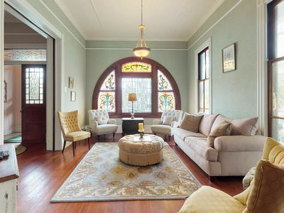 Photo for NEW LISTING! Victorian House w/backyard & free WiFi - close to the Strand!
