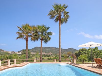 Photo for Small but nice finca with great views and pool near Cala Ratjada