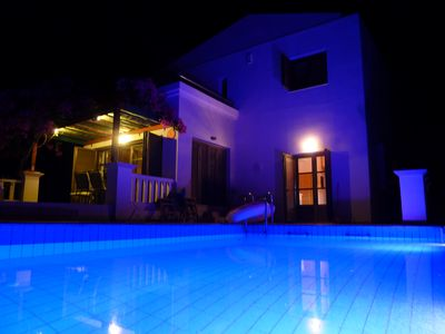 Photo for Detached villa, private pool , sea view.Nr Lindos  WI-FI