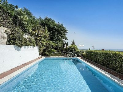Photo for Villa with private pool and breathtaking view of the Gulf of Gaeta