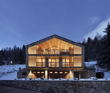 Photo for Luxury chalet in Sulden in the middle of the Ortler Alps with private spa area