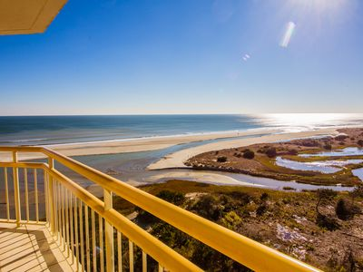 Photo for Beautiful Views from the South Tower - Updated Oceanfront Condo!