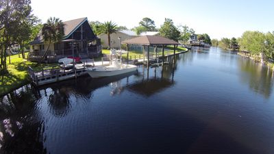 Photo for Homosassa Cabin,Deep Water, Prime Location For Scalloping, Sleeps 8, 35ft dock