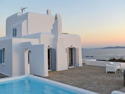 Photo for Stunning private villa for 10 guests with private pool, A/C, WIFI, TV and parking