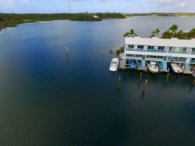 Photo for Spacious Waterfront Townhouse, With Boat Lift And Private Dock.