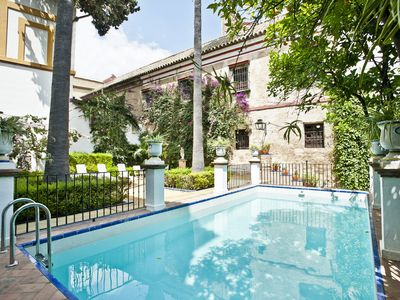 Photo for FAB CHATEAU BEHIND CATHEDRAL ENTIRELY PROPERTY WITH GARDEN AND POOL
