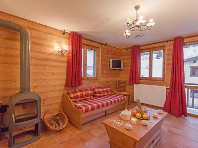 Photo for Wifi, 200m from resort center, fitness, balcony, parking, tv, ski locker, 180m², Val Cenis