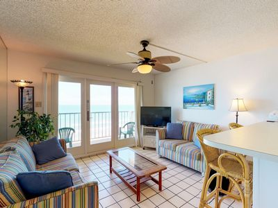 Waterfront, dog-friendly condo w/ access to shared pool and hot tub