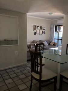 Photo for Apartment 3/4, 150 m from the beach with pool, furnished with 2 parking spaces