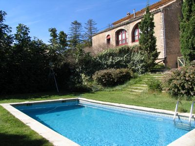 Photo for Great historic house with pool and private barbecue. Barcelona area. Wi-Fi
