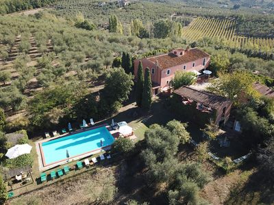 Photo for Farmhouse Podere Marchiano, completely restored old farmhouse in Tuscan style.