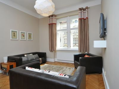 Photo for Ludmily apartment in Vinohrady with WiFi.