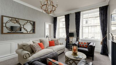 Photo for New Edinburgh Hideaways luxury apartment on Cumberland Street in the New Town