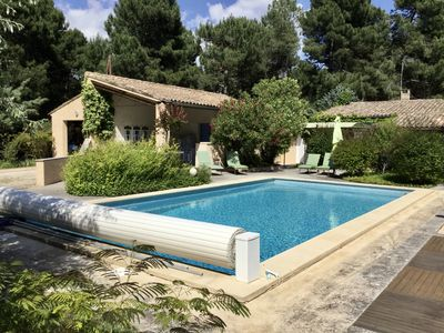 Photo for Cottage with private pool in ROUSSILLON