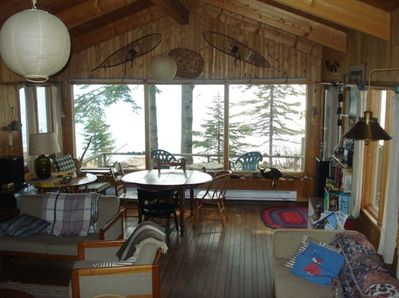 Great Room Overlooking Lake Superior