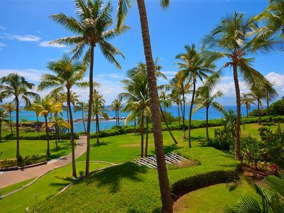 Photo for Ocean Dreams 2203 | Oceanfront and Pool Views at Montage Kapalua Bay