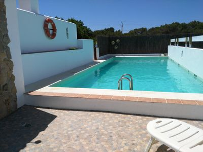 Photo for OFFER MONTH OF JULY HOUSE WITH POOL, GARDEN, AND AIR ACOND. CLOSE TO THREE BEACHES,