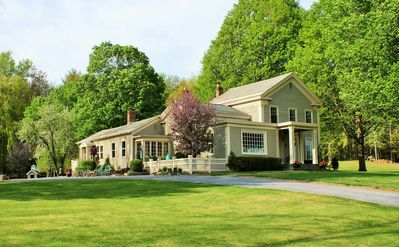 Photo for Welcome to History - Saratoga Springs Private Farm Estate, Views, Flower Gardens